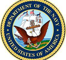 US Navy Emblem Sticker by ukedward