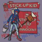 The Stick-Up Kid -  New York Comic Con Design Challenge by Anna Beswick