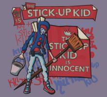 The Stick-Up Kid -  New York Comic Con Design Challenge by Anna Beswick