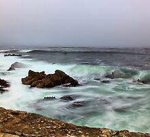 Smooth waves -Monterey Bay, CA by MarthaBurns