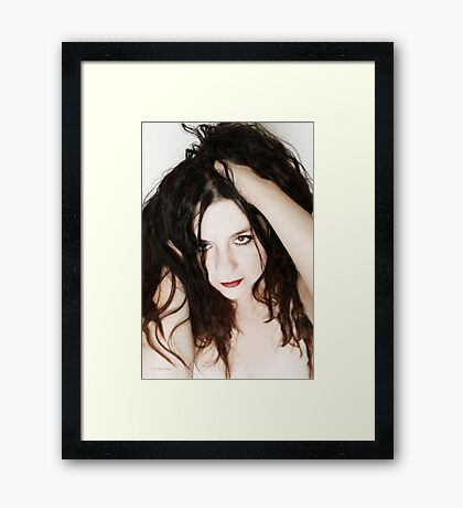 A hold too intense to forget Framed Print
