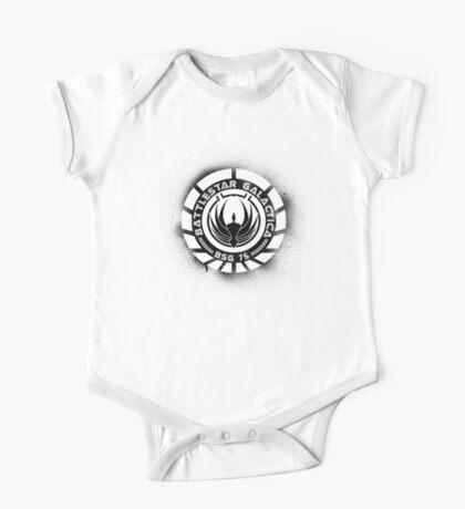 Battlestar Galactica Grunge - Blue line One Piece - Short Sleeve