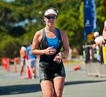 Kingscliff Triathlon 2011 finish line B6503 by Gavin Lardner