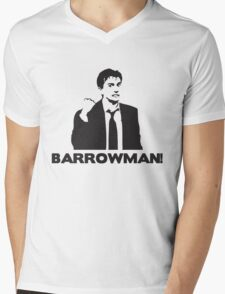 BARROWMAN! David Tennant on Buzzcocks- Black Mens V-Neck T-Shirt
