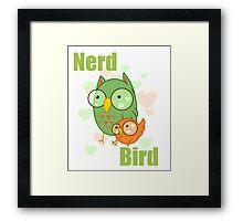 Nerd Bird Framed Print