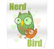 Nerd Bird Poster