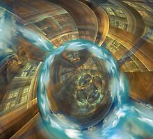 The Dissolving Vortex by Craig Hitchens - Spiritual Digital Art