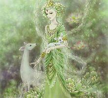 Lady of Compassion by Mitzi Sato-Wiuff