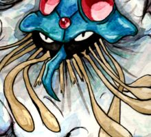 Tentacruel watercolour. Sticker