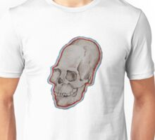 Elongated skull portrait Unisex T-Shirt