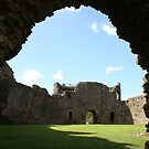 White Castle archway to inner ward, Wales by Grace Johnson