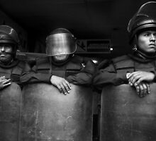 Riot Stoppers by Michael Dunn