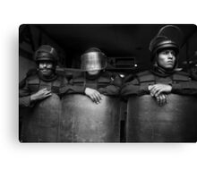 Riot Stoppers Canvas Print