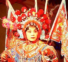 Chinese performer 2, Chengdu by Olivia  Gray
