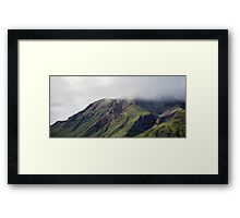 Cliffs of Green Framed Print