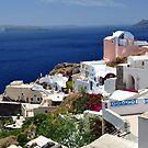 Santorini Island. by FER737NG