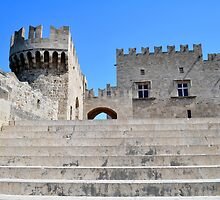 Palace of Grand Masters, Rhodes, Greece. by FER737NG