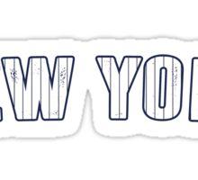 MLB City - New York Sticker