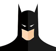 Batman Minimalist by thejedihippie