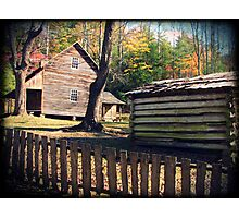 Cabin - Cades Cove, Tennessee Photographic Print