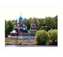 Church of Prince Dimitry the Martyr Art Print