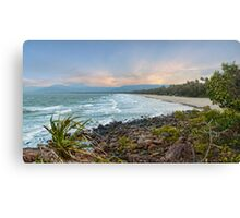 4mile Beach From Above Canvas Print