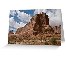 Arches National Monument Formation Greeting Card