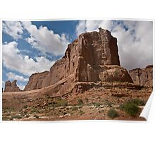 Arches National Monument Formation Poster