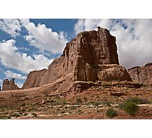 Arches National Monument Formation Photographic Print