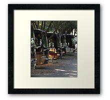 Big Rig Motorcoach Framed Print