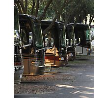 Big Rig Motorcoach Photographic Print