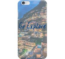 Go Explore - World Travel, Tumblr, Italy  iPhone Case/Skin