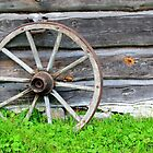 Wheels Stop Turning  by J J  Everson