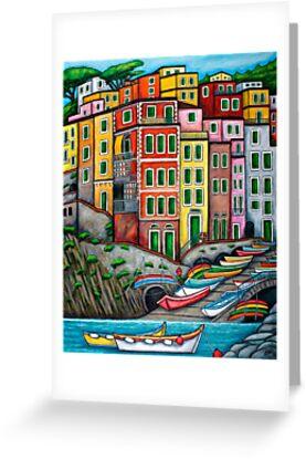 Colours of Riomaggiore, Cinque Terre by LisaLorenz