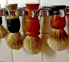Mug Brushes by Judy Seltenright