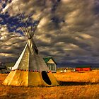 Teepee at Kleskun by Michelle Burton