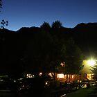 Ranch House at Dusk by Sam Matzen