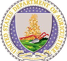 US Dept of Agriculture Seal Sticker by ukedward