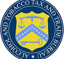 US Alcohol & Tobacco Tax & Trade Bureau Seal Sticker by ukedward