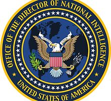 US Director of National Intelligence Seal Sticker by ukedward