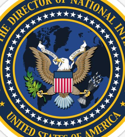 US Director of National Intelligence Seal Sticker Sticker