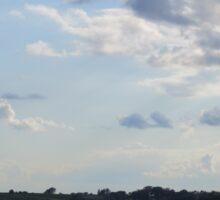 Sun Behind the Cloud- Iowa  Sticker