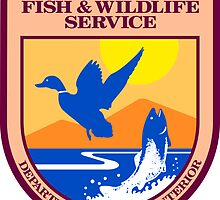 US Fish and Wildlife Service Seal Sticker by ukedward