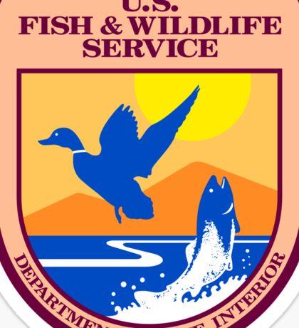US Fish and Wildlife Service Seal Sticker Sticker