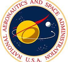 NASA Seal Sticker by ukedward