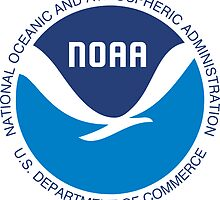 NOAA Oceanic Atmospheric Administration Seal Sticker by ukedward