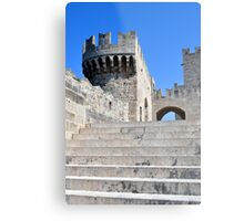 Palace of Grand Masters, Rhodes, Greece. Metal Print