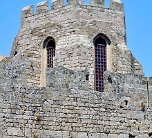 Medieval fortress of Rhodes, Greece. by FER737NG