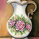 Flower Pitcher by Pamela Plante
