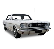 Ford - 1967 Mustang #2 Photographic Print